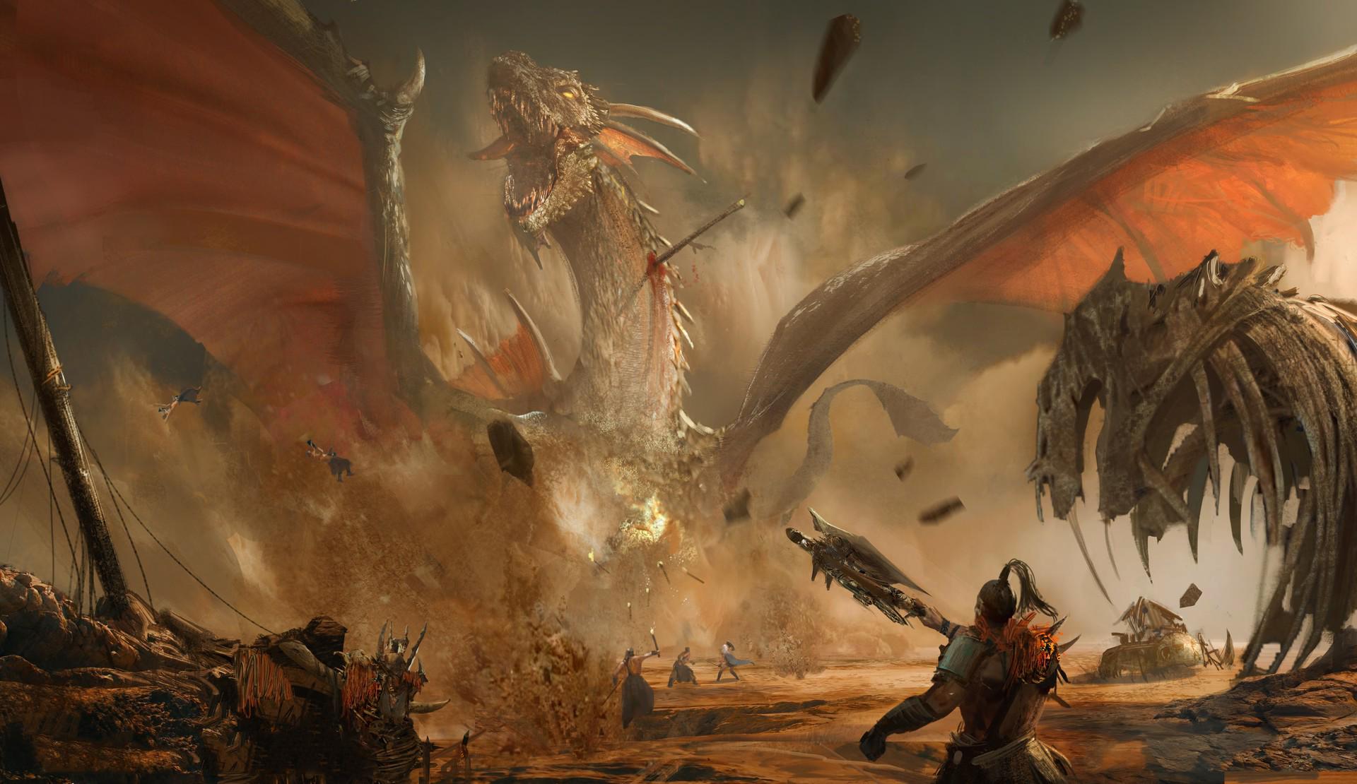 картинки нападающие драконы рыцари знаете что